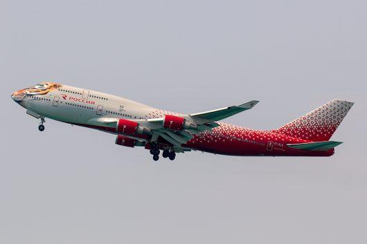 FV/SDM/ロシア航空 FV5876 B747-400 EI-XLD