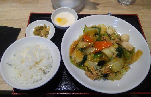 上海麺(五目焼きそば)700円