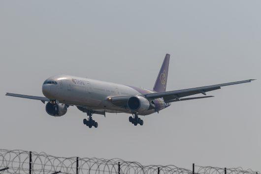 TG/THA/タイ国際航空 TG201 B777-300 HS-TKE