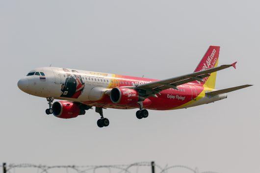 VZ/TVJ/タイ・ベトジェットエア VZ302 A320 HS-VKE