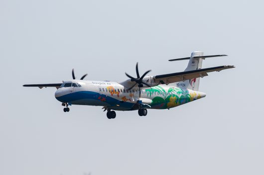 PG/BKP/バンコクエアウェイズ PG251 ATR72-600 HS-PZE