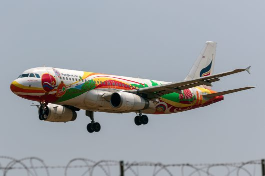 PG/BKP/バンコクエアウェイズ  A319 HS-PGU