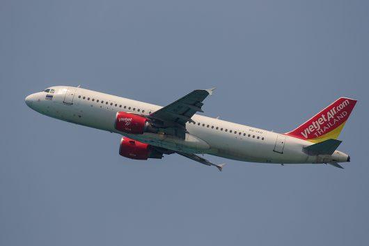VZ/TVJ/タイ・ベトジェットエア VZ305 A320 HS-VKD