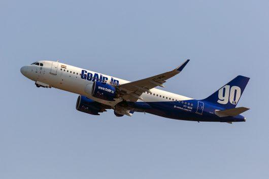 G8/GOW/ゴー・エア G832 A320Neo VT-WGN