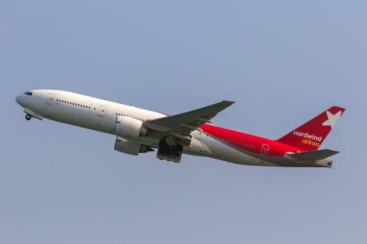 N4/NWS/ノードウィンド航空 N42482 B777-200ER VQ-BUD