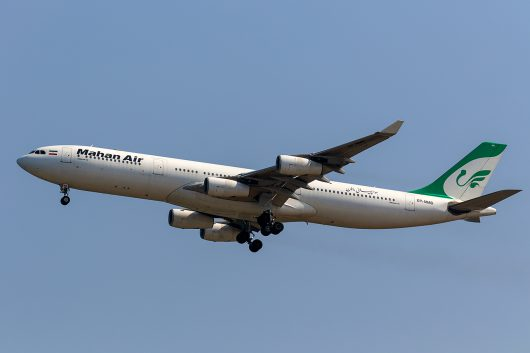 W5/IRM/マーハーン航空  A340-300 EP-MMD