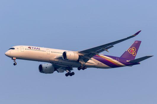 TG/THA/タイ国際航空 TG518 A350-900 HS-THJ