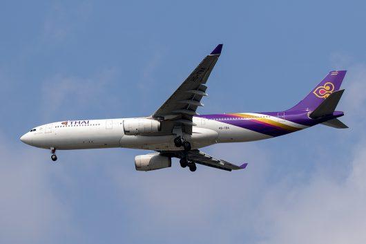 TG/THA/タイ国際航空  A330-300 HS-TBA