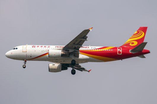 HX/CRK/香港航空 HX771 A320 B-LPC