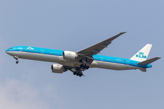 KL/KLM/KLMオランダ航空 KL875 B777-300ER PH-BVK