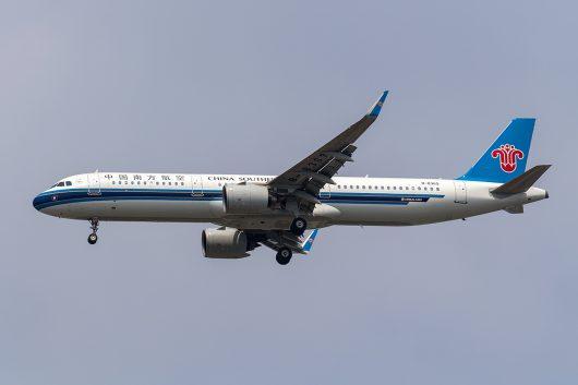 CZ/CSN/中国南方航空 CZ357 A321Neo B-8369