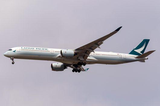 CX/CPA/キャセイパシフィック航空 CX705 A350-1000 B-LXB
