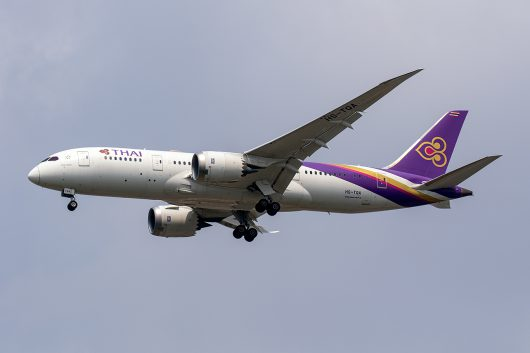TG/THA/タイ国際航空 TG637 B787-8 HS-TQA