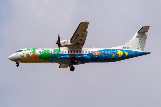 PG/BKP/バンコクエアウェイズ  ATR72 HS-PGA