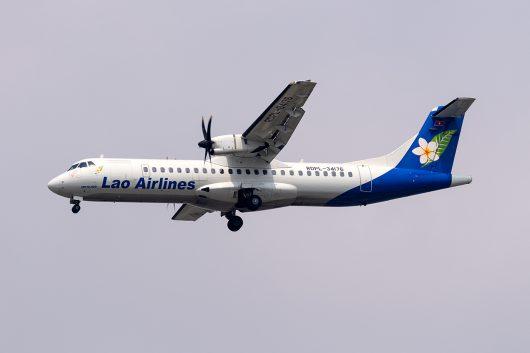 QV/LAO/ラオス国営航空  ATR72 RDPL-34176