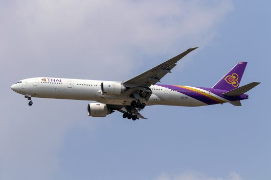 TG/THA/タイ国際航空 TG103 B777-300ER HS-TKQ