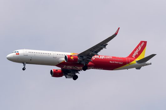 VJ/VJC/ベトジェット VJ801 A321 VN-A670