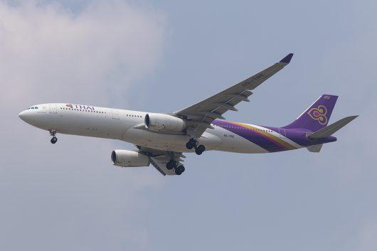 TG/THA/タイ国際航空 TG663 A330-300 HS-TBE