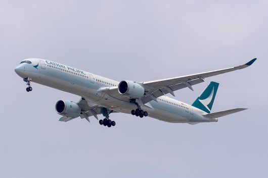 CX/CPA/キャセイパシフィック航空 CX615 A350-1000 B-LXI
