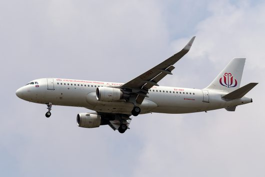QD/JCC/JCインターナショナル航空 QD686 A320 XU-997