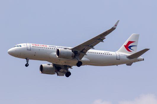 MU/CES/中国東方航空 MU541 A320Neo B-1076