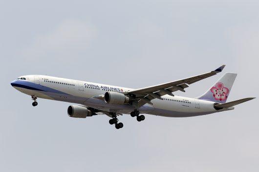 CI/CAL/チャイナエアライン CI831 A330-300 B-18308