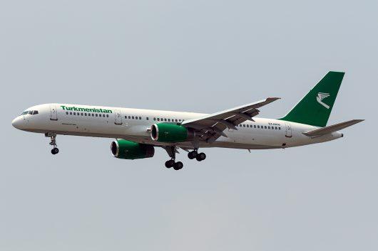 T5/TUA/トルクメニスタン航空 T5647 B757 EZ-A010