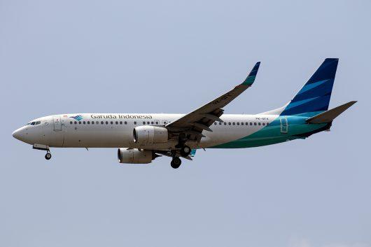 GA/GIA/ガルーダ・インドネシア航空 KE657 B737-800 PK-GFX