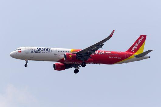VJ/VJC/ベトジェット VJ803 A321 VN-A651