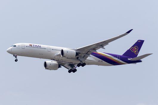 TG/THA/タイ国際航空 TG404 A350-900 HS-THG