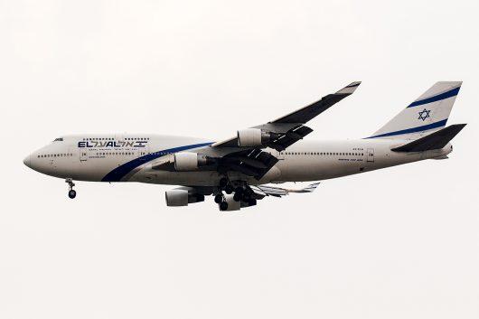 LY/ELY/エルアルイスラエル航空 LY81 B747-400 4X-ELA
