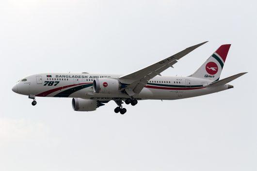 BG/BBC/ビーマン・バングラデシュ航空 BG88 B787-8 S2-AJT
