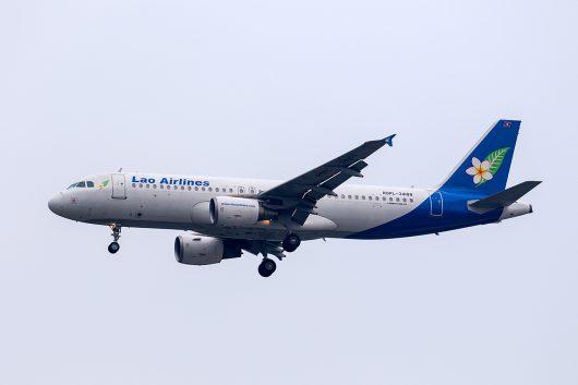 QV/LAO/ラオス国営航空 QV441 A320 RDPL-34188
