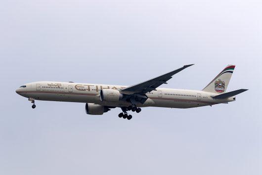 EY/ETD/エティハド航空 EY406 B777-300ER A6-ETI