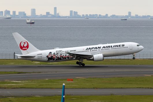 JL/JAL/日本航空  B767-300 JA8986
