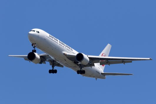 JL/JAL/日本航空 JL454 B767-300 JA8987