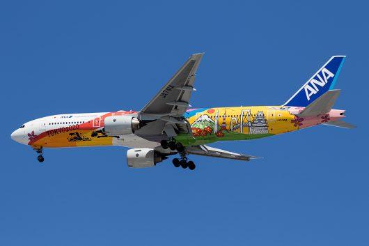 NH/ANA/全日空 NH18 B777-200ER JA741A