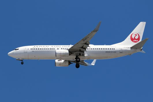 JL/JAL/日本航空 JL372 B737-800 JA347J