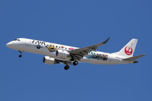 JL/JAL/日本航空 JL625 ERJ190 JA252J