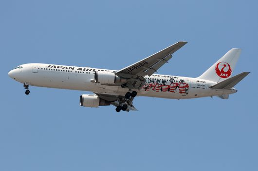 JL/JAL/日本航空 JL626 B767-300 JA8986