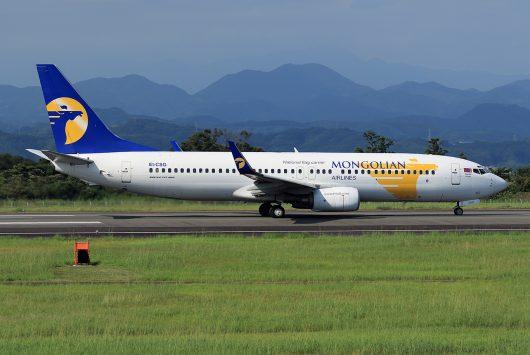 OM/MGL/MIATモンゴル航空 OM7508 B737-800 EI-CSG