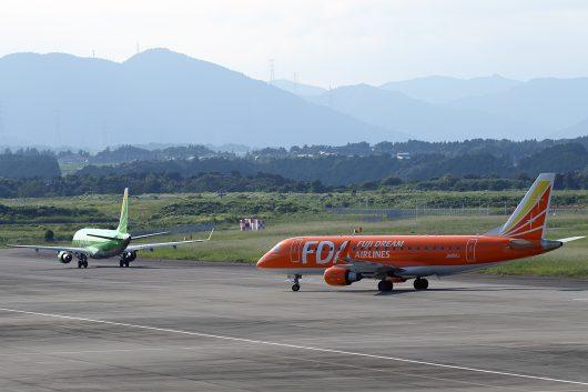 静岡空港を発着するFDA