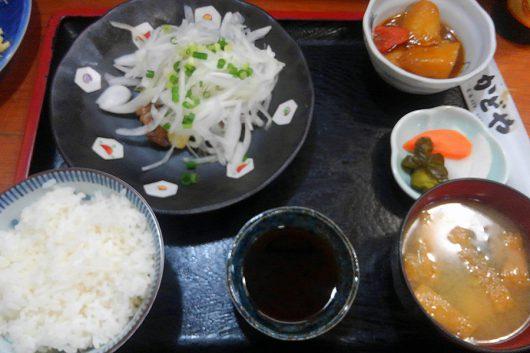マグロほほ肉ステーキ定食