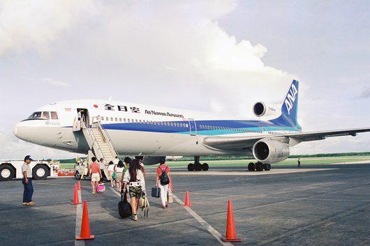 サイパンにANAがL-1011でCYの2クラスで飛ばしていた時期もありました。