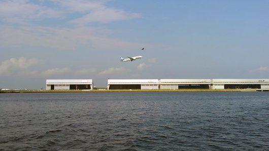 国際線が増加する羽田空港