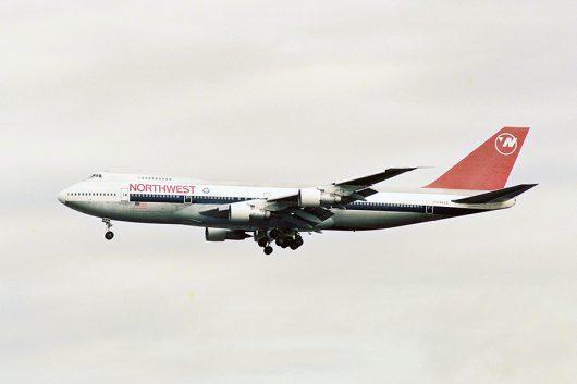 ノースウェスト航空/NWA/NW B747-200 N634US