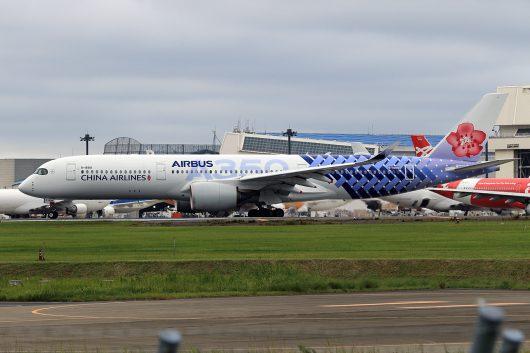 CI/CAL/チャイナエアライン CI101 A350-900 B-18918