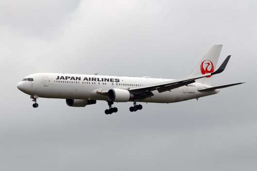 JL/JAL/日本航空 JL779 B767-300ER JA607J