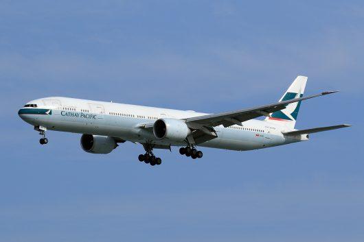 CX/CPA/キャセイパシフィック航空 CX548 B777-300ER B-KQV