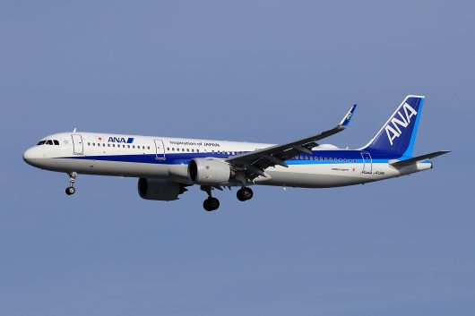 NH/ANA/全日空 NH576 A321Neo JA139A